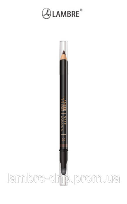 Карандаш для глаз Lambre Eye Liner Deep Colour № 22 - оттенок шоколадно-коричневый