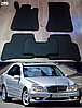 Коврики на Mercedes C-Class W203 '00-07. Автоковрики EVA