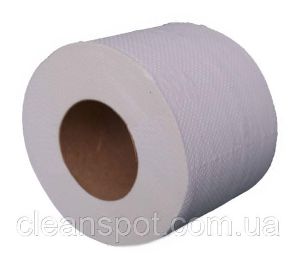 Туалетная бумага PT60 белая двухслойная