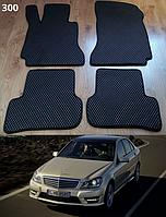 Коврики на Mercedes C-Class W204 '07-14. Автоковрики EVA, фото 1