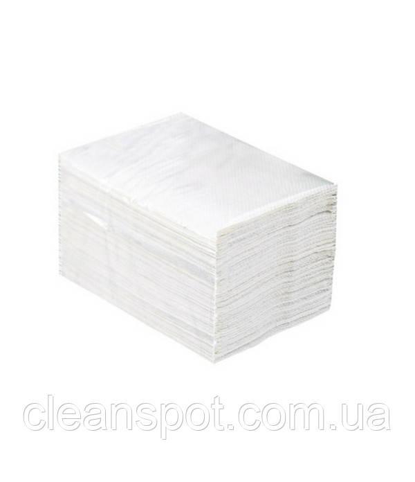 Бумага туалетная в листах 2-х слойная белая Merida Top