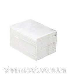 Папір туалетний в листах 2-х шарова біла Merida Top