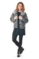Куртка женская шерстяная с мехом Max Mara