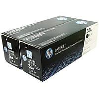 Картридж HP 36A LJ P1505/M1120/1522 Black (2*2000 стр) Двойная упаковка