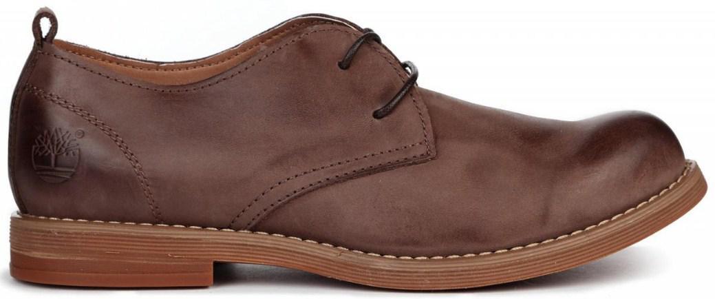 b6c2b39704d3 Timberland Hartwick Plain Toe Oxford Brown Kors   туфли мужские коричневые  кожаные - BOOT CLUB в