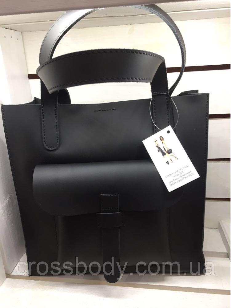 481bfbf615a3 Женская сумка большая матовая кожа: продажа, цена в Львове. женские ...