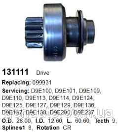 renault 25 (b29_) 2.0 (b297) стартер