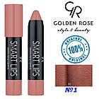 Помада-карандаш Golden Rose Smart №1, фото 2