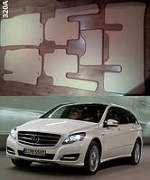 Коврики на Mercedes R-classe (версия SHORT) 2007-н.в. Автоковрики EVA