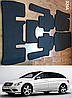 Коврики ЕВА в салон Mercedes R-classe (версия LONG) '05-13