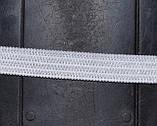 Резинка  трикотажная 10мм.белая (50м) китай, фото 2