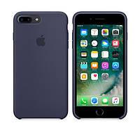 Оригинальный Силиконовый чехол Apple\Original silicone case for iPhone 7 plus blue (синий)(High copy)
