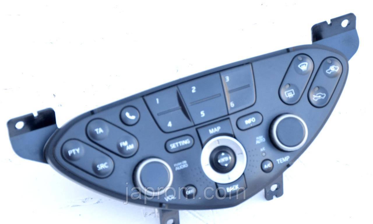 Блок управления печкой (отопителем) климат контролем Nissan Primera P12 2002 - 2008г.в.