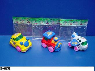 Заводна іграшка 061ABC 3 вида, в пакеті 8*6 см
