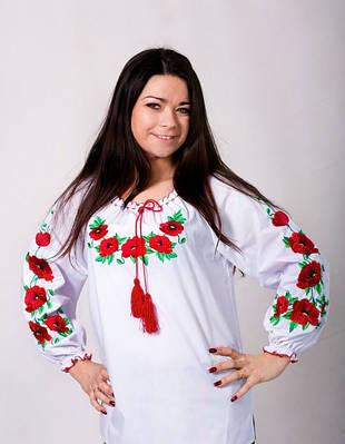 Вышитая блуза до 62р