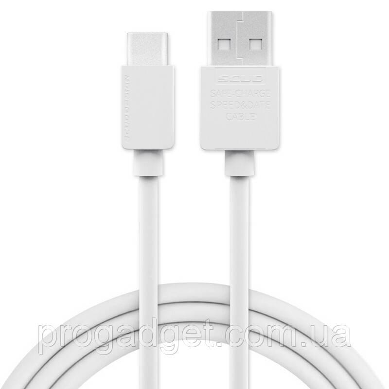 Scud DT200 USB Type-C data cable 2 м кабель - тот случай, когда длина, диаметр и цвет имеют значение!
