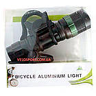 Велосипедний ліхтар передній з фокусуванням і зарядкою, фото 9