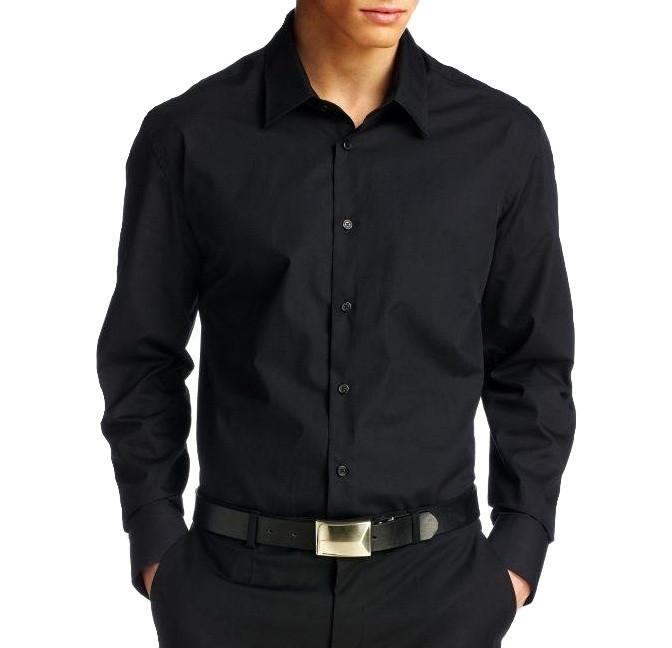 фото чёрная мужская рубашка