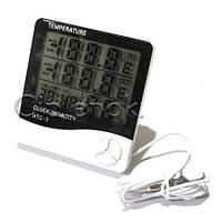 Цифровой термометр-гигрометр с выносным датчиком HTC-2