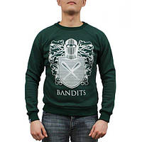 Мужская кофта cвитшот Bandit - Green Castle (толстовка, чоловіча кофта)