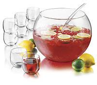 Набір для пуншу 10 пр. Libbey (чаша 12,8 л, чашки 8 шт.-347 мл, ложка розливна)