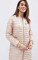 Стильная куртка прямого кроя