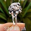 Серебряное кольцо Лягушка с жемчугом, фото 2
