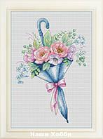 """Набор для вышивания крестом VN-070 """"Цветочный зонтик"""""""