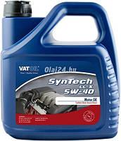 Синтетическое моторное масло SynTech LL-X 5W-40 ✔ емкость 4л.