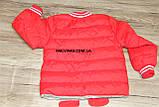 Куртка деми мальчика красная ЧЕЛОВЕК ПАУК на 98/104 рост  арт 8060., фото 5