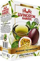 "Чай ""Livingston Harvest"" 90г Зелений Маракуйя (1/48)"
