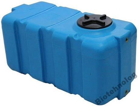 Бесплатная доставка. Бак, бочка, емкость 200 литров пищевая прямоугольная, крышка d 22 см SG, фото 2