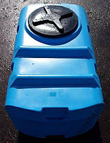 Бесплатная доставка. Бак, бочка, емкость 300 литров пищевая прямоугольная, крышка d 35 см SК, фото 2
