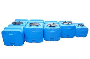 Бесплатная доставка. Бак, бочка, емкость 300 литров пищевая прямоугольная, крышка d 35 см SК, фото 3