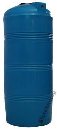 Бесплатная доставка. Бак, бочка, емкость 320 литров пищевая вертикальная 300 350 400 V, фото 2