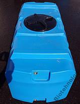 Бесплатная доставка. Емкость, бак, бочка 500 литров пищевая прямоугольная, крышка d 35 см SК, фото 2