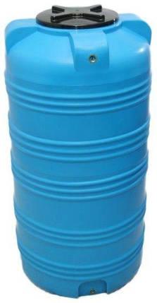 Бесплатная доставка. Бак, бочка, емкость 500 литров пищевая вертикальная 505 V, фото 2