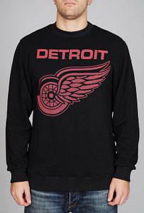 Мужская кофта cвитшот Backcourt - Detroit Black (толстовка, чоловіча кофта)
