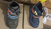 Детские демисезонные ботинки для мальчиков Размеры 21,22