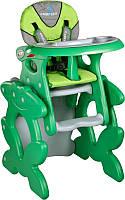 Стульчик для кормления CARETERO со столиком Primus green