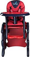 Стульчик для кормления CARETERO со столиком Primus Red