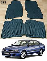Коврики на Mitsubishi Carisma '95-06. Автоковрики EVA, фото 1