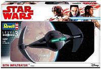 "Пластиковая сборная модель "" Star Wars ™ Sith Infiltrator "" Revell ( RV03612 )"
