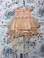 Платье на девочку 1-2-3 года купить оптом