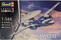 """Пластиковая сборная модель самолета  """" 1/144 E-2C Hawkeye """" Revell ( RV03945 80-3945 )"""