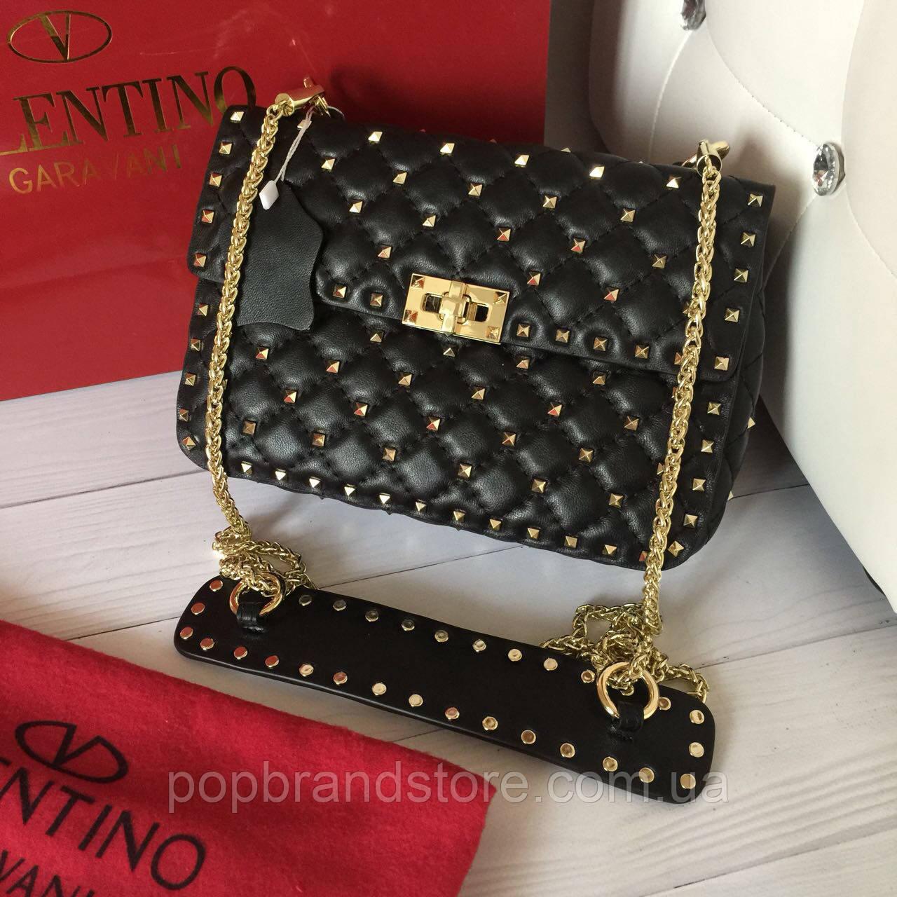 7d7bd1c2c42d Женская сумочка Valentino Garavani Rockstud (реплика) - Pop Brand Store    брендовые сумки,