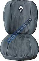 Авточехлы для салона Renault Logan MCV 5 мест 2013-> (Elegant)