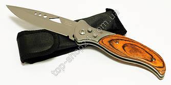 Выкидной нож 108 А с деревянной ручкой + чехол