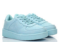 Женские криперсы голубого цвета