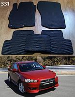 Коврики на Mitsubishi Lancer X (10), Evo X, Sb '07-н.в. Автоковрики EVA